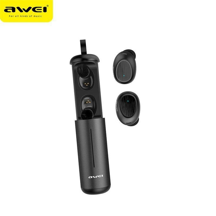 AWEI T55 TWS Bluetooth 5.0 Stereo Sport Earbuds - Deal Gamed