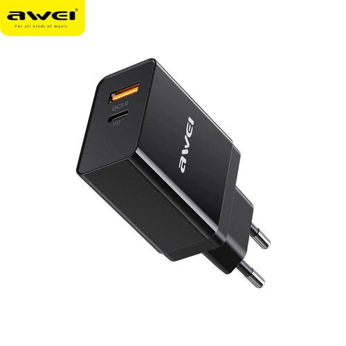 AWEI C-980 18W QC3.0 PD Vooc Type-C Charger