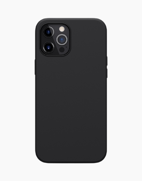 Nillkin Flex Pure Pro Magnetic Silicone Cover iPhone 12 Pro Max | Black - Deal Gamed
