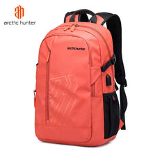"Load image into Gallery viewer, Arctic Hunter Waterproof USB Backpack 15.6"" B00387 - Deal Gamed"