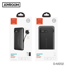 Load image into Gallery viewer, Joyroom Digital LED Power Bank 10000 mAh 3 in 1 D-M202 - Deal Gamed