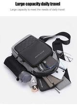 Load image into Gallery viewer, Arctic Hunter Waterproof Cross Bag USB XB00105