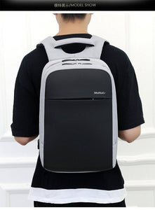 "Meinaili 13"" 14"" Inch Laptop Business Waterproof Backpack With USB Charge 1802 - Deal Gamed"
