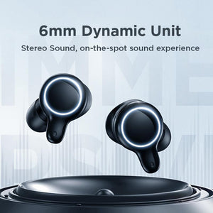Joyroom TWS JR-T12 CVC Noise Cancelling Digital LED Earphone - Deal Gamed