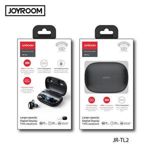 Joyroom Hifi Stereo Sweatproof 1500 mAh Power Bank Earbud JR-TL2 - Deal Gamed