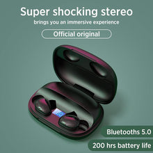 Load image into Gallery viewer, Joyroom Hifi Stereo Sweatproof 1500 mAh Power Bank Earbud JR-TL2 - Deal Gamed