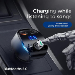 Joyroom JR-CL02 Bluetooth MP3 Player Car Phone Charger - Deal Gamed
