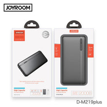 Load image into Gallery viewer, Joyroom 20000 mAh 2 USB Fast Charge Power Bank - D-M219 Plus - Deal Gamed