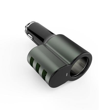 LDNIO 5.1A Fast Car Charger 3 USB CM11