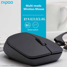 Load image into Gallery viewer, Rapoo M100 Multi-mode Wireless Silent Optical Mouse - Deal Gamed