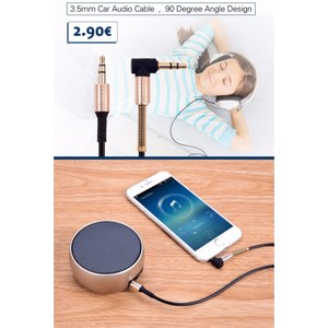 Joyroom AUX Cable 1 Meter S600 - Deal Gamed
