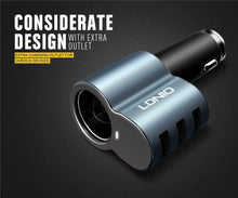 Load image into Gallery viewer, LDNIO 5.1A Fast Car Charger 3 USB CM11 - Deal Gamed