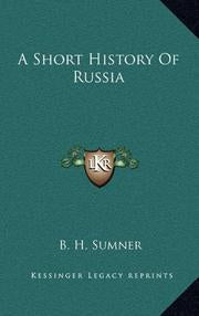 Short history of Russia by B.H, Summer