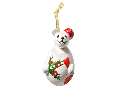 Christmas Polar Bear Ornament 2