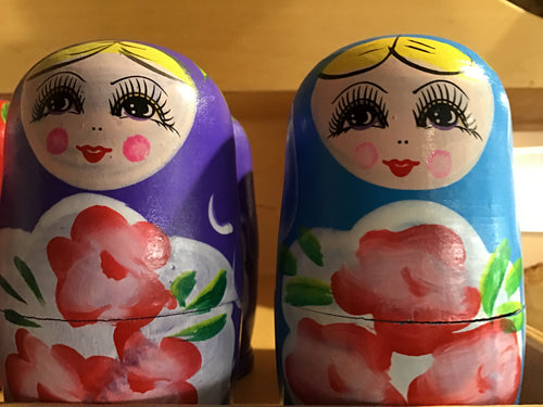 Wooden matryoshka