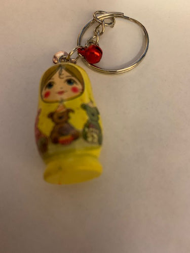 Matryoshka with bears (Yellow)