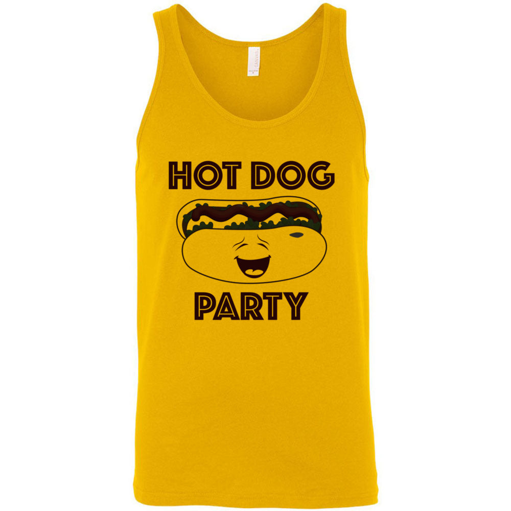 Hot Dog Party Men's Tank Top