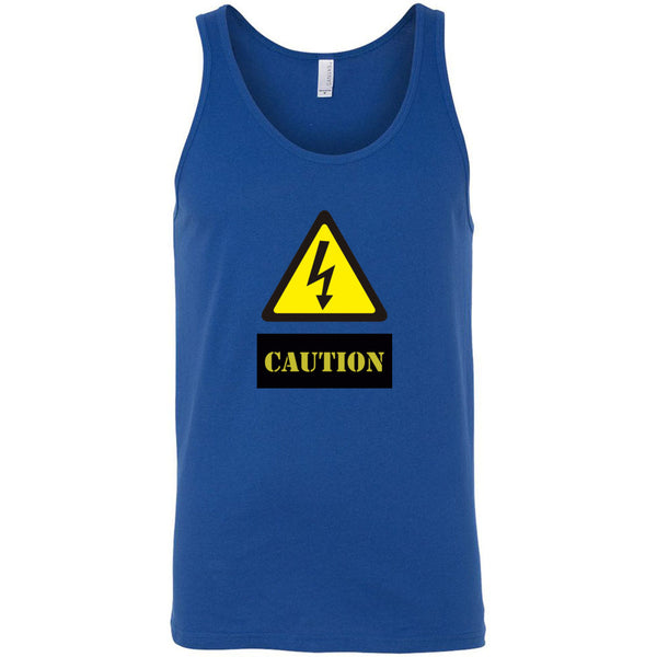Caution Men's Tank Top