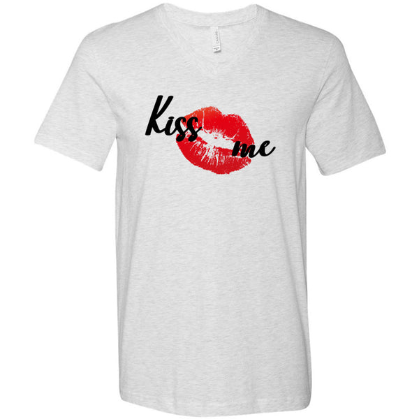 Kiss Me Men's V-Neck T-Shirt