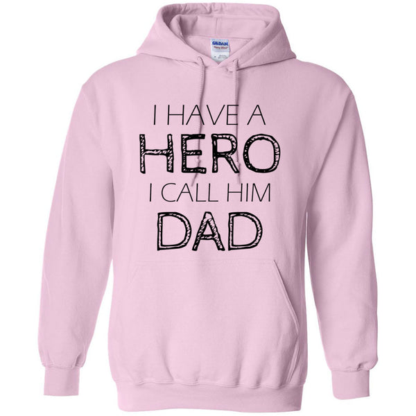 My father is my hero Unisex Hoodie