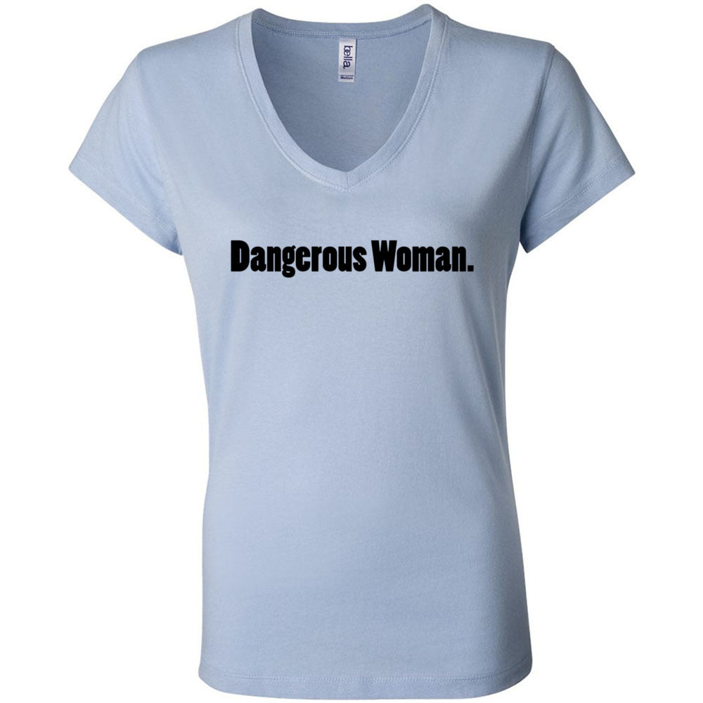 Dangerous Woman Women's V-Neck T-Shirt
