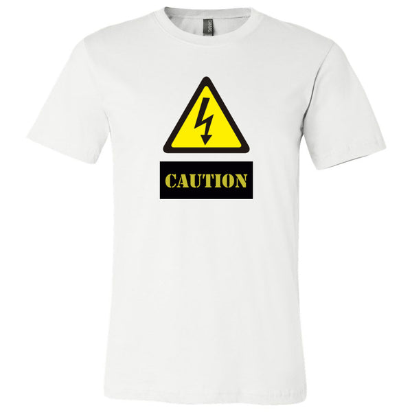 Caution Men's T-Shirt