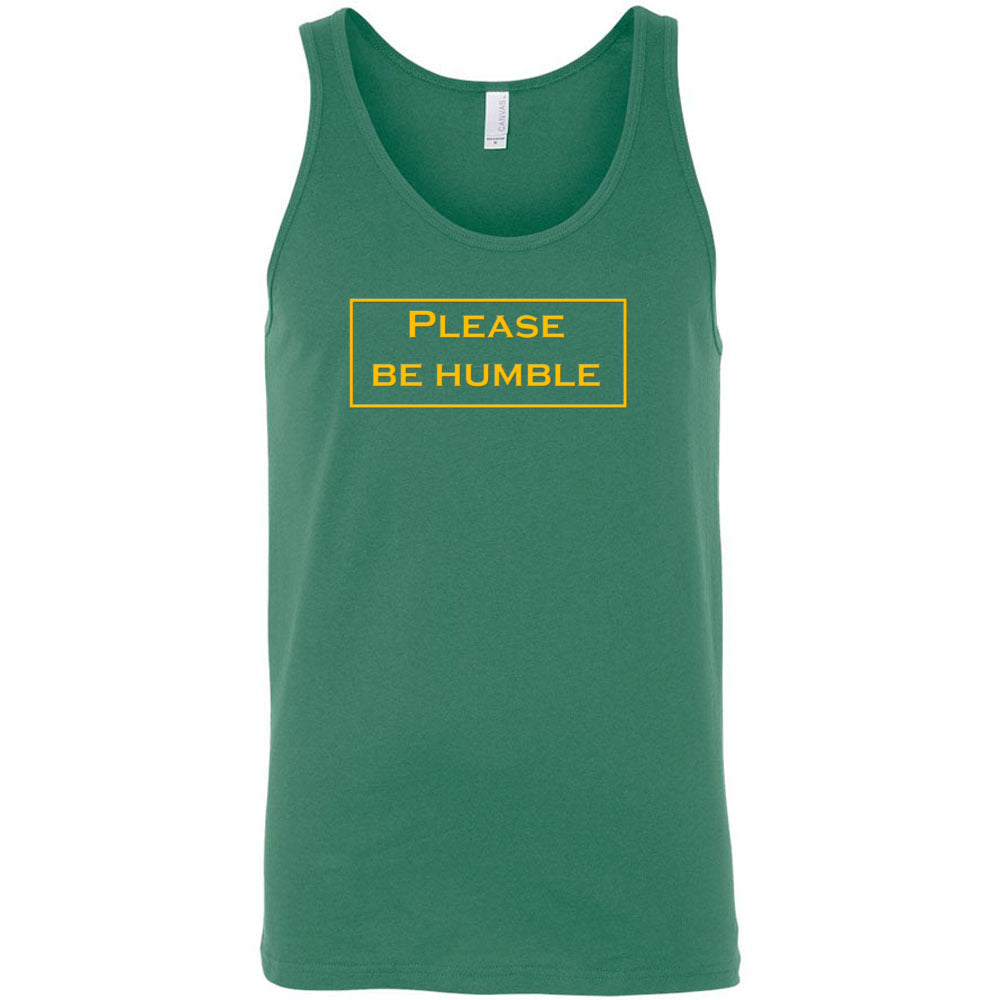 Please Be Humble Men's Tank Top