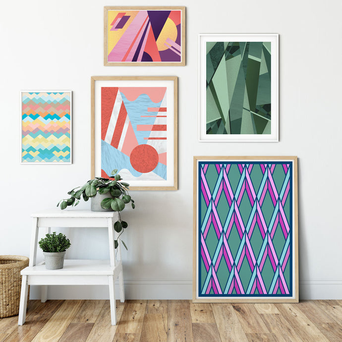 How to Geometric Your Interior Space.