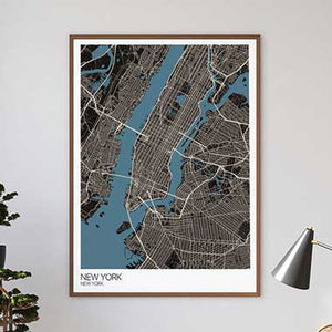 City maps prints by Mapplyco