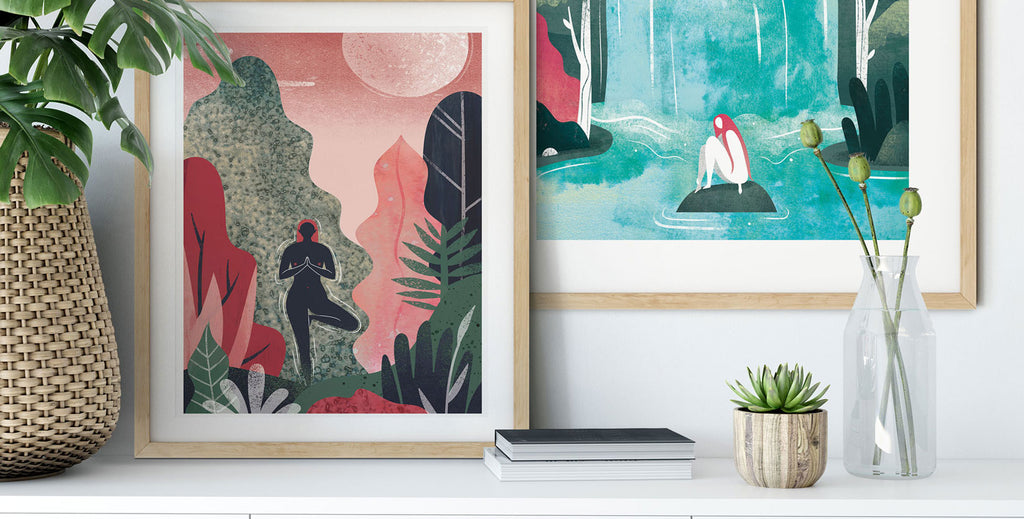 Fantasy Prints by Emily Dayson infused with natural wonder