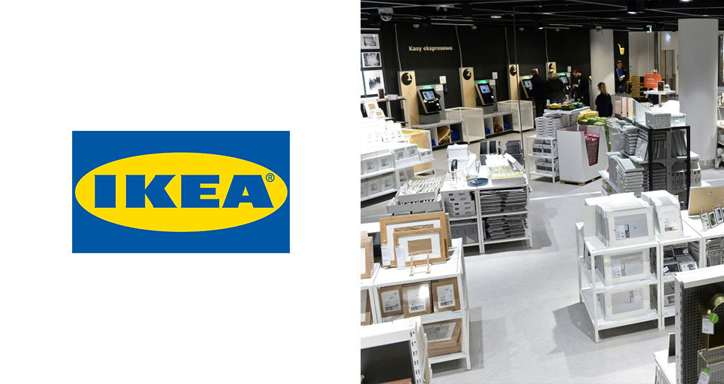 Frames from Ikea which are perfect for your print