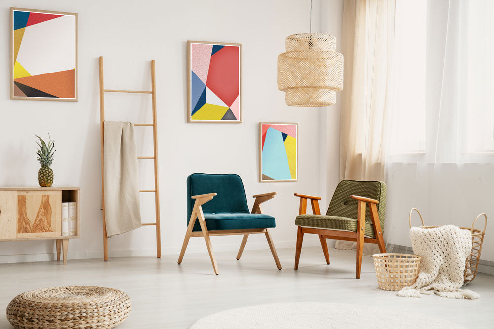 Seasonal Geometric Prints for Contemporary Spaces