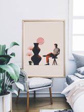 Load image into Gallery viewer, 18 Still Life Art Print in a bedroom