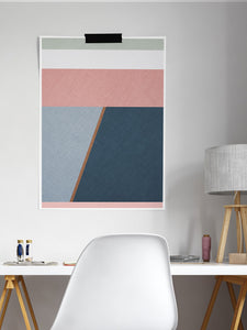 Calm Abstract Neutral Wall Art