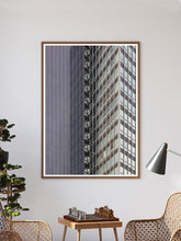 Load image into Gallery viewer, CIS Building Art Print in a traditional room