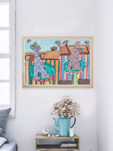 Load image into Gallery viewer, City LII in a Modern Bedroom Interior