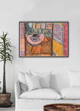 Load image into Gallery viewer, City XLVIII Paris Art Print in a gorgeous lounge interior