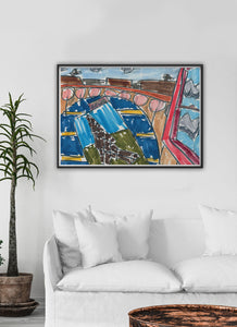 City XXV Art Print