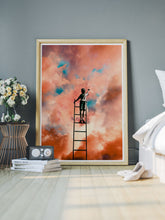 Load image into Gallery viewer, Cloud Painting Art Collage Print