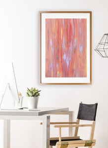 Fireworks Night Sky Art Print in gorgeous studio room