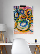 Load image into Gallery viewer, Gioia Abstract Acrylic Print in a desk area