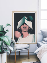 Load image into Gallery viewer, Olcia Modern Illustration Print in a bedroom
