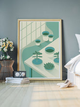 Load image into Gallery viewer, The Potting Shed Plant Art Print in a bedroom