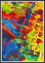 Load image into Gallery viewer, Rezzo Acrylic Abstract Art in a frame