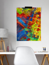 Load image into Gallery viewer, Rezzo Acrylic Abstract Art in a studio room