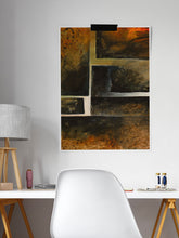 Load image into Gallery viewer, Sigiro Abstract Blocks in a studio room