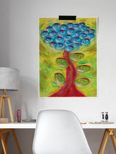 Load image into Gallery viewer, Spiralbero Spiral Abstract Art in a lounge