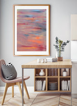Load image into Gallery viewer, The Sun Will Come Out Painting Poster in a dining area
