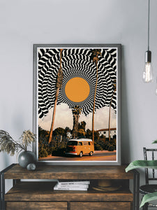 Where we going? Art Poster