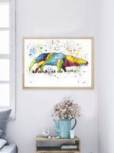 Load image into Gallery viewer, Anteater Wall Art Print